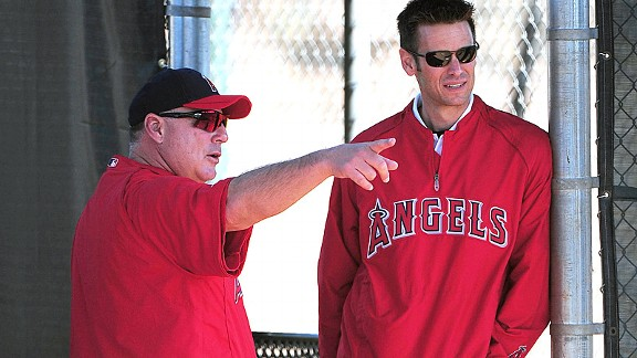 Jerry Dipoto and Mike Scioscia