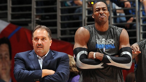 Stan Van Gundy y Dwight Howard