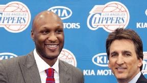 AP Photo/Damian Dovarganes Los Clippers esperan que Lamar Odom