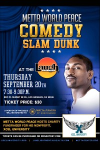 metta world peace tendra su propio show de comedia en los angeles