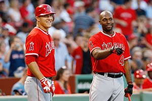 Mike Trout and Torii Hunter