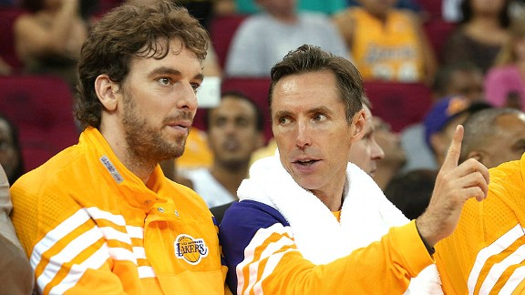 Pau Gasol/Steve Nash