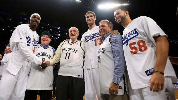 Brooklyn Dodgers and Brooklyn Nets