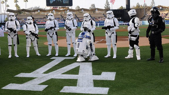 Dodgers Star Wars