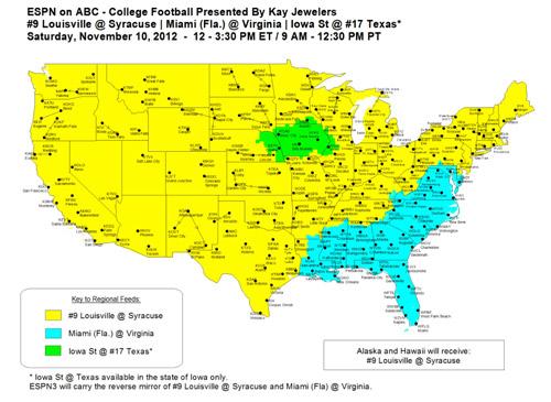 espn2 college football ncaa schedule football