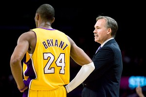 Mike D'Antoni and Kobe Bryant