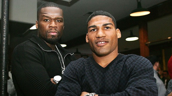 Yuriorkis Gamboa and 50 Cent