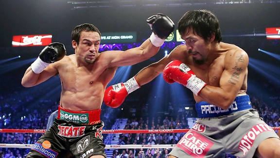 Juan Manuel Marquez, Manny Pacquiao