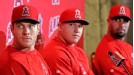 Josh Hamilton, Mike Trout, Albert Pujols 