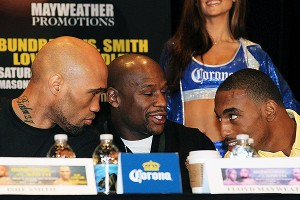 Ishe Smith, Floyd Mayweather, J'Leon Love