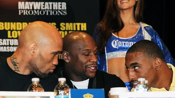 Ishe Smith, Floyd Mayweather, yJ'Leon Love