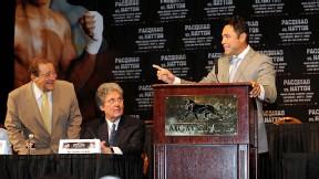 Bob Arum and Oscar De La Hoya