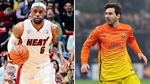 James/Messi