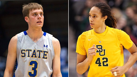 Nate Wolters and Brittney Griner