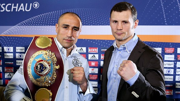 Arthur Abraham and Robert Stieglitz