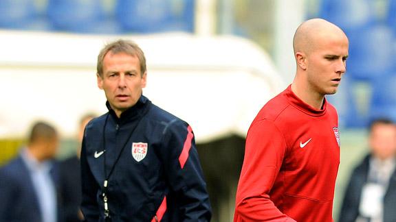 Jurgen Klinsmann, Michael Bradley