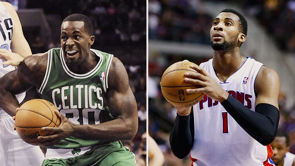 Brandon Bass and Andre Drummond