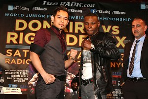 Nonito Donaire and Guillermo Rigondeaux