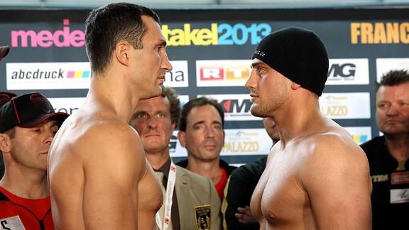Wladimir Klitschko y Francesco Pianeta