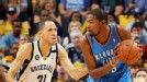 Kevin Durant, Tayshaun Price
