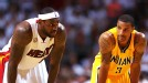 LeBron James and George Hill