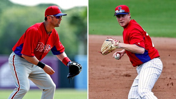 Michael Young, Cody Asche