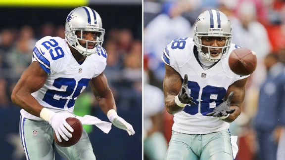 DeMarco Murray and Dez Bryant