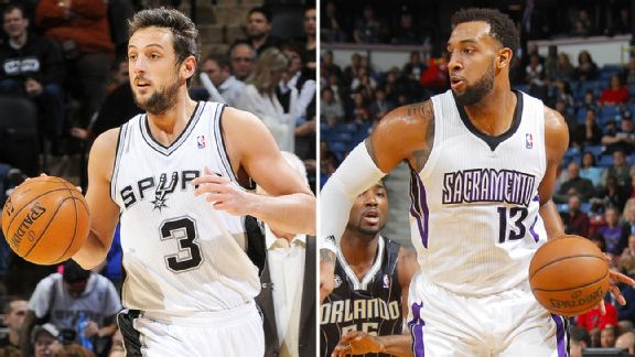 Marco Belinelli, Derrick Williams