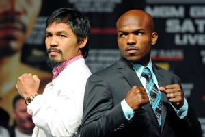 Manny Pacquiao y Timothy Bradley