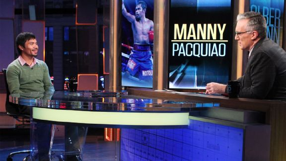 Manny Pacquiao, Keith Olbermann