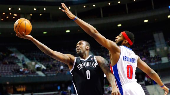 Andray Blatche, Andre Drummond