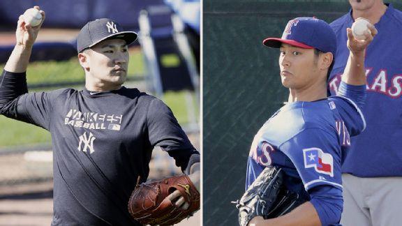 Masahiro Tanaka y Yu Darvish