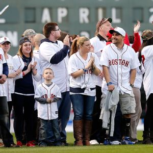Red Sox Ceremony