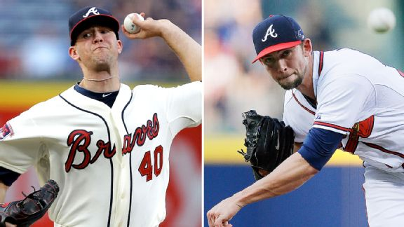 Alex Wood and Mike Minor