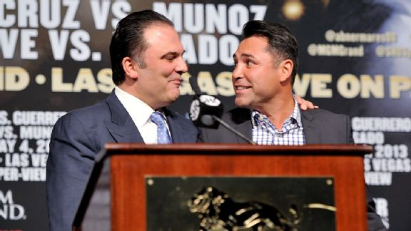Richard Schaefer and Oscar De La Hoya
