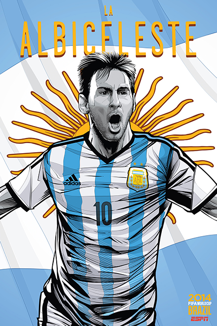 Cristiano Siqueira: World Cup Posters