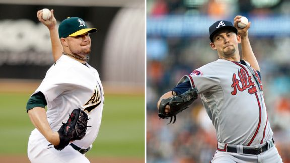 Jon Lester and Mike Minor