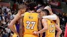 Lakers Huddle