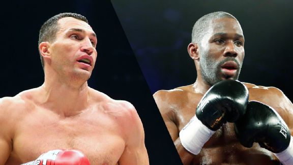 Wladimir Klitschko and Bryant Jennings