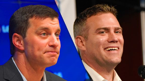 Andrew Friedman and Theo Epstein