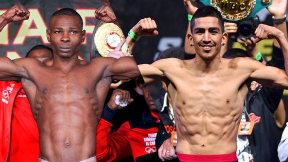 Guillermo Rigondeaux and Leo Santa Cruz