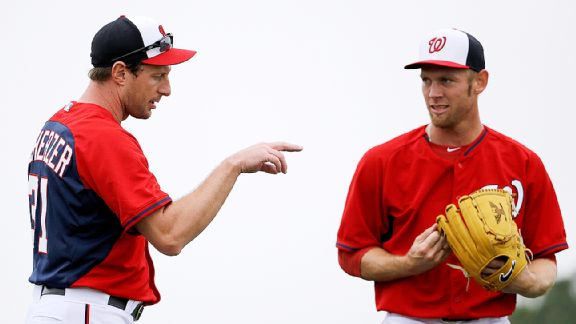 Max Scherzer and Stephen Strasburg
