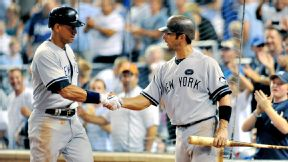 Jorge Posado, Alex Rodriguez, New York Yankees