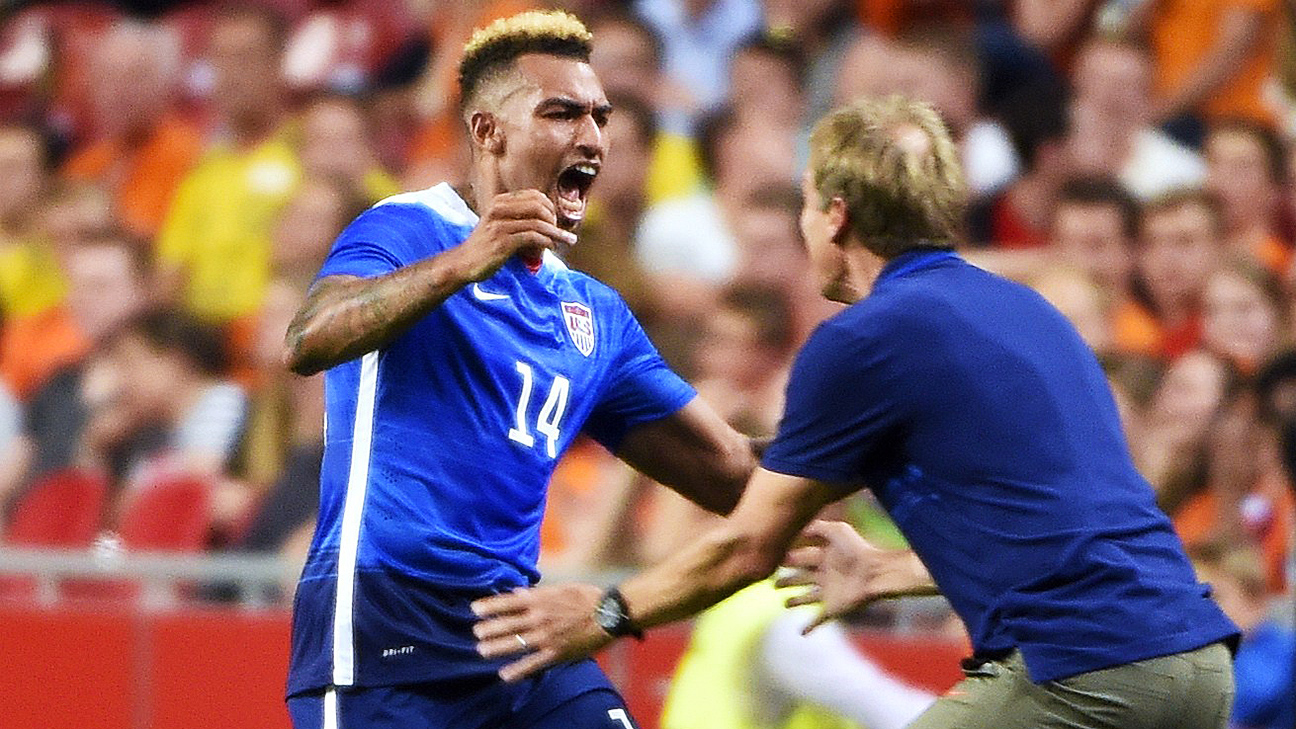 Danny Williams helped lead the U.S. upset friendly victories over the Netherlands and Germany.