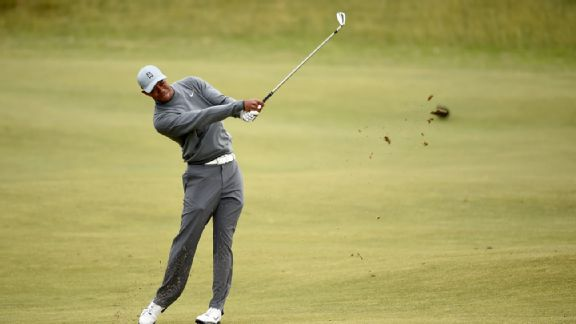 Tiger Woods, St. Andrews, The Open