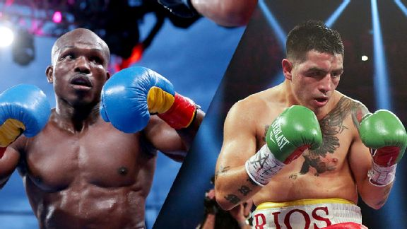 Timothy Bradley Jr. Brandon Rios