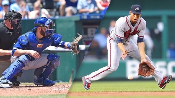 Russell Martin and Andrelton Simmons