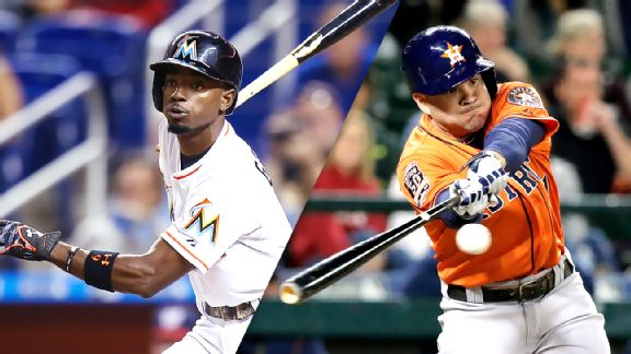 Dee Gordon, Jose Altuve