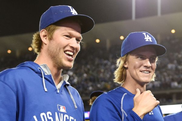 Clayton Kershaw and Zack Greinke