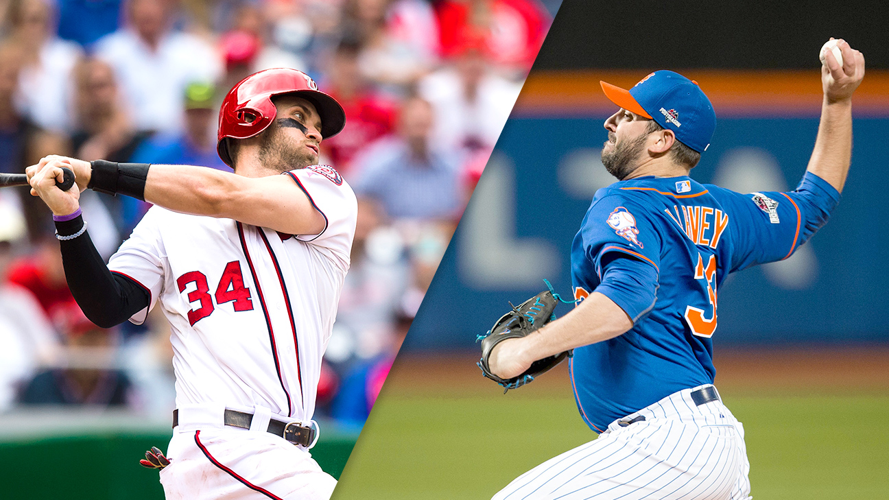 Bryce Harper and Matt Harvey